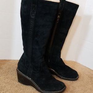 UGG Suede tall boots
